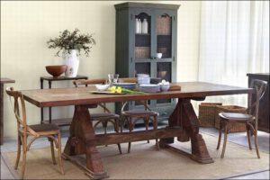 שולחן אוכל – Monk Table
