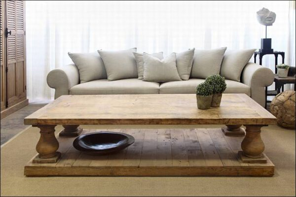 שולחן סלון - עץ אלון Wild