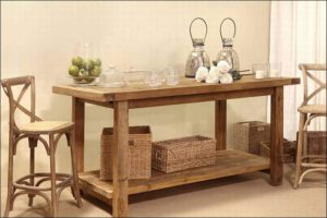 שולחנות וכיסאות בר – שולחן (אי ) למטבח