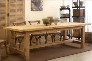 שולחן אוכל מעץ מלא – פא020107