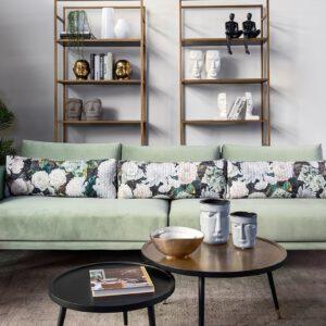 ספה בצבע מנטה