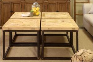 שולחן סלון מעוצב – רביעיה