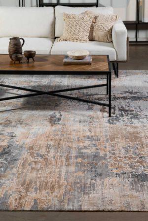 שטיח צמר וינטג' בשילוב צבעים